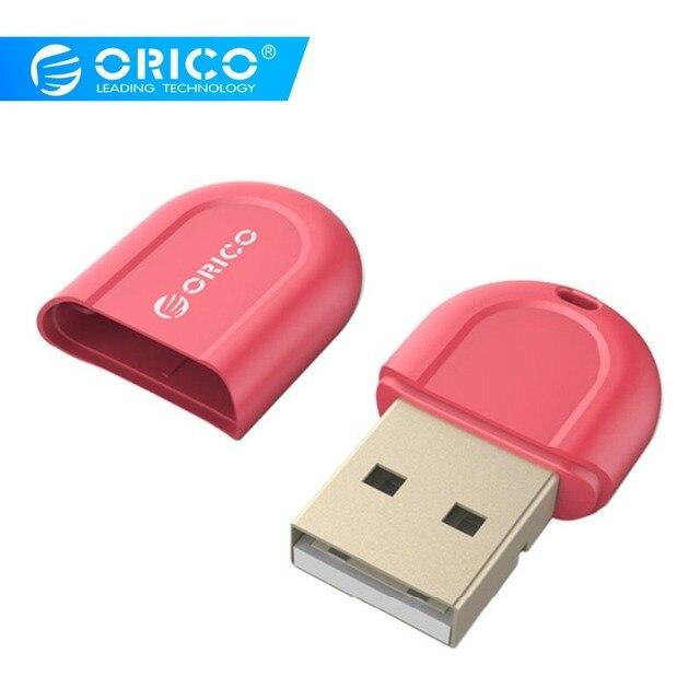 ORICO USB Bluetooth 4.0 Năng Lượng Thấp Micro Adapter cho Windows, Tai Nghe Loa Chuột Bàn Phím-Đỏ