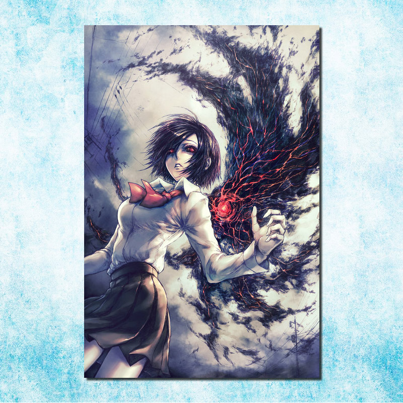 Touka – Tokyo Ghoul Re Hot Japan Anime Art Silk Canvas Poster 13×20 32×48 inches Home Decoration(more)-3