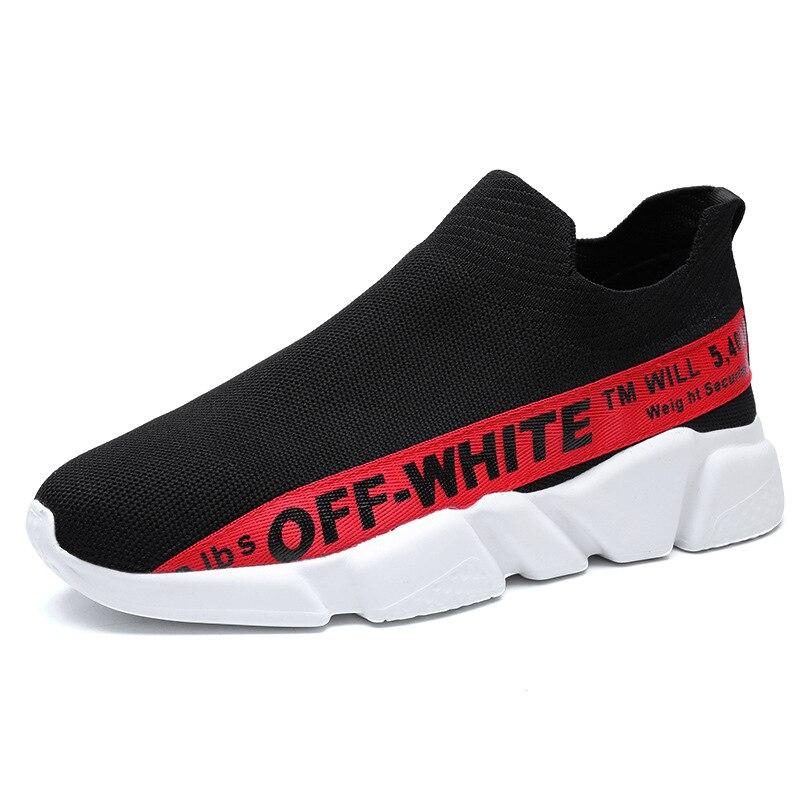 Super Hommes or Chaude D'été rouge Chaussures Noir blanc New Tricot De Ins Chaussettes Flying 8vm0NwnO