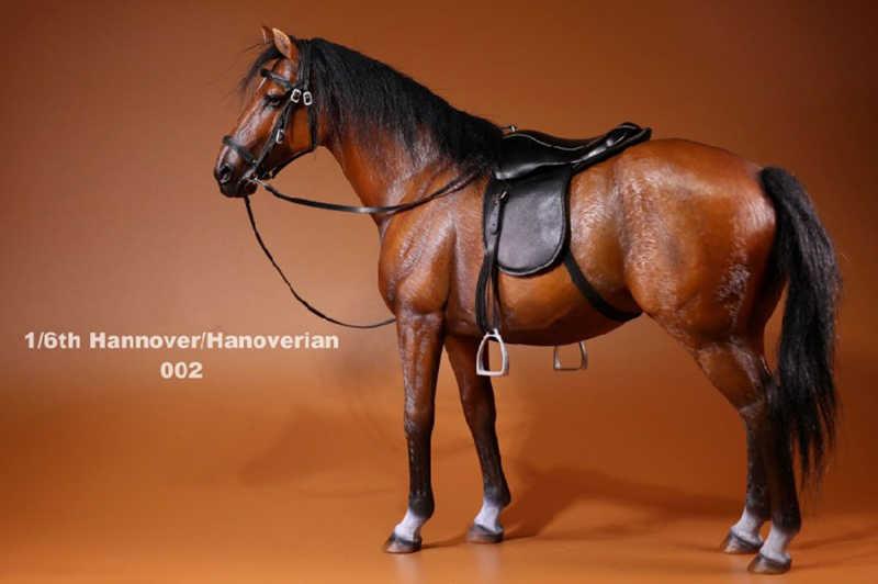 1:6 SCALA IL SIGNOR Z Animale simulazione Toys Hanoveria Cavallo Figura Resina Decorazione