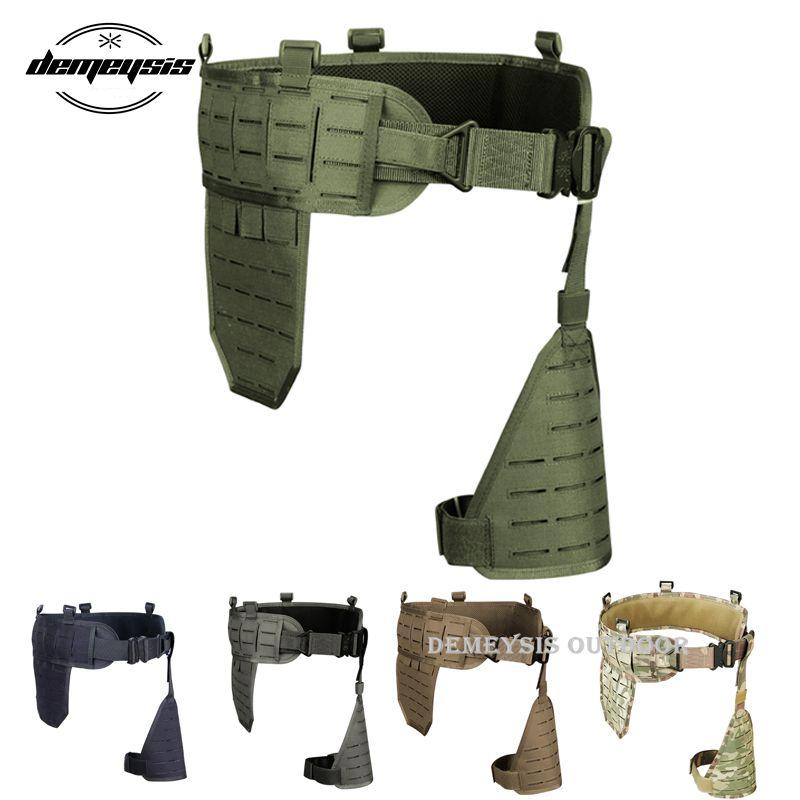 1000D Nylon tactique taille Cummerbund Sports de plein air chasse Combat taille rembourrée ceinture militaire Airsoft taille soutien