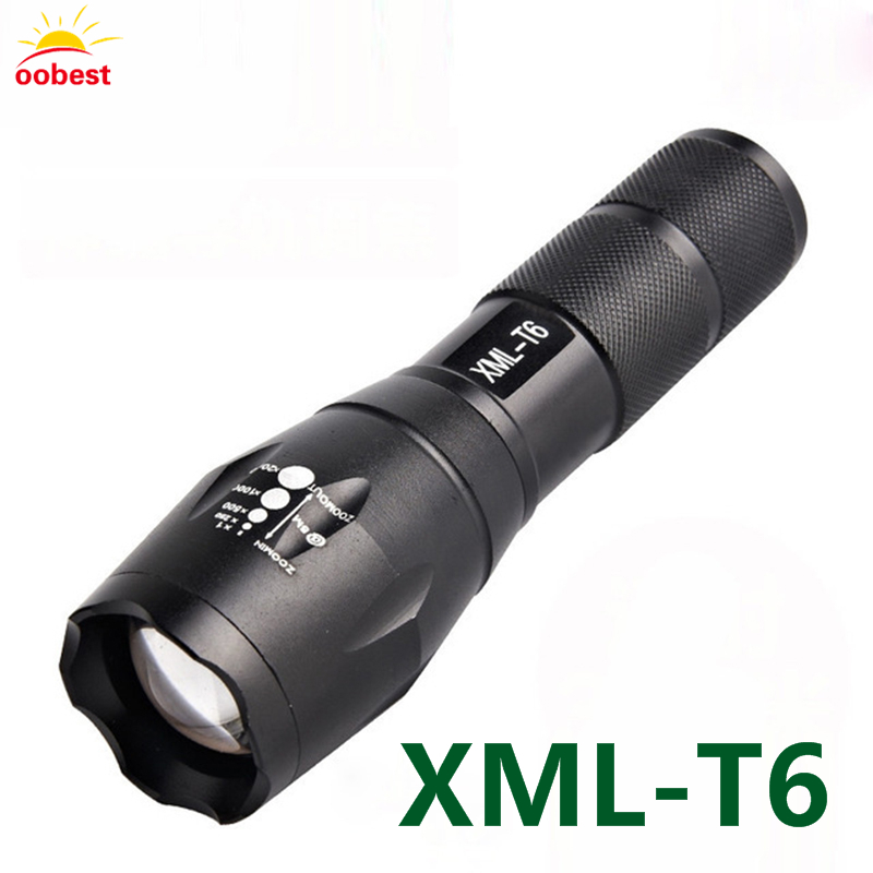 Tactical bycicle bike diving LED Flashlight 1000 Lumens XM-L T6 LED Flash light Torch Zoomable Flashlight Torch Lanternas 18650 10w led tactical flashlight t6 zoom torch waterproof 18650 lanternas practical light for bike lamp cheap sale