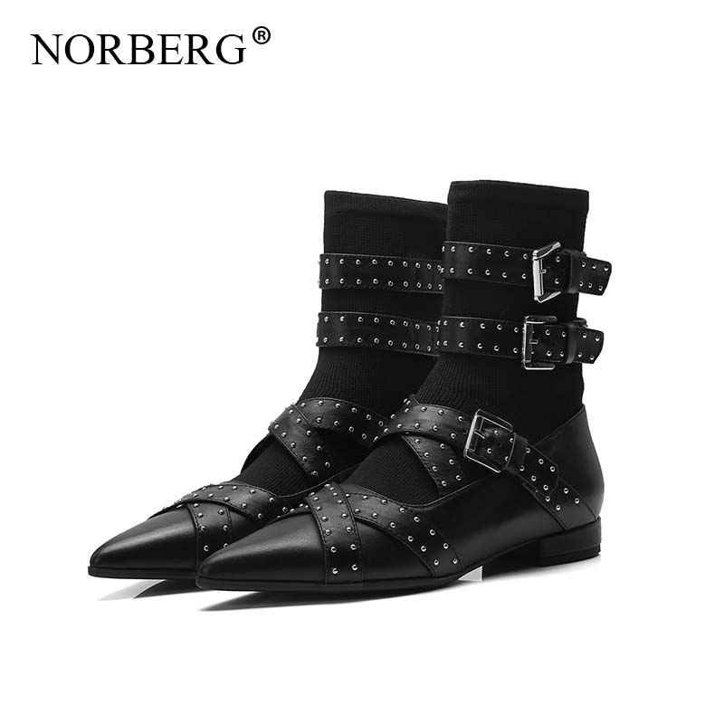 New fashion ladies boots locomotive must-have motorcycle boots fashion personality pointed buckle female Martin bootsNew fashion ladies boots locomotive must-have motorcycle boots fashion personality pointed buckle female Martin boots
