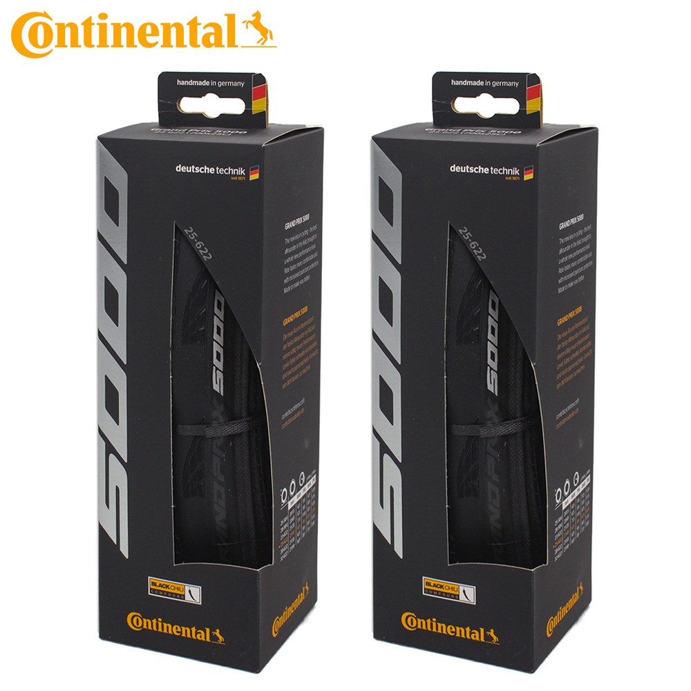 Continental Grand Prix GP 5000 700 x 23 25 28C Road Bike Clincher Foldable Tire Box