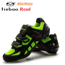 TIEBAO Road Cycling Shoes zapatillas deportivas mujer Bicycle Athletic Racing Sports Shoes Bike Professional Self-Locking Shoes