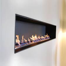 Hot Sale 48 Inch Intelligent Silver Or Black Remote Control Ethanol Indoor Fire Place