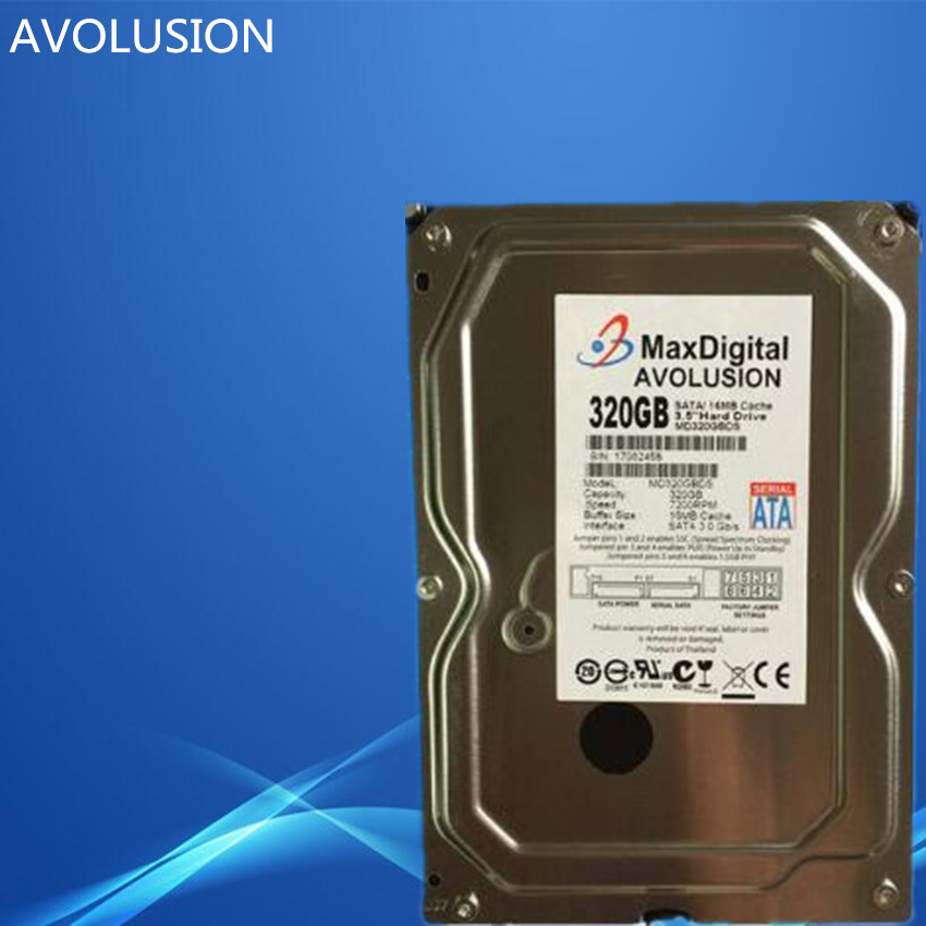 320GB HDD SATA 3 5 Enterprise Grade Security CCTV Hard Drive Warranty for 1 year
