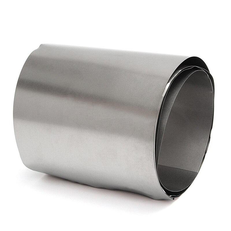Titanium Ti Thin Plate Sheet Foil TC4 0.1mmx100mmx1000mm Metalworking Supplies 0 1x200x800mm titanium alloy strip uns gr5 tc4 bt6 tap6400 titanium ti foil thin sheet industry or diy material free shipping