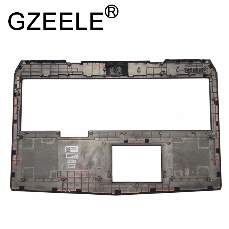 GZEELE new for DELL ALIENWARE 17 R2 17 R3 series UPPER CASE PALMREST topcase cover YGF8D 0YGF8D black keyboard bezel top coverGZEELE new for DELL ALIENWARE 17 R2 17 R3 series UPPER CASE PALMREST topcase cover YGF8D 0YGF8D black keyboard bezel top cover