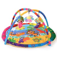 Baby Activity Gym Mat 90*90*50cm Tapete Infantil Kids Rug Play Mat  Fitness Frame Baby Activity Center Toys цена