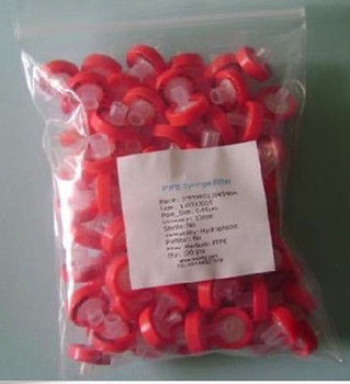 NEW 100pcs PTFE Syringe Filters 13mm 0.22um non-sterilized