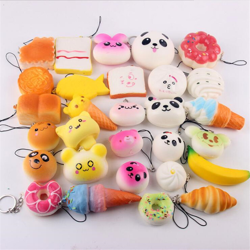 Cellphones & Telecommunications Spirited Jumbo Kawaii Phone Pendant Straps Colorful Animal Squishy Doll Slow Rising Stress Relief Squeeze Toys For Baby Kids Xmas Gift Mobile Phone Straps