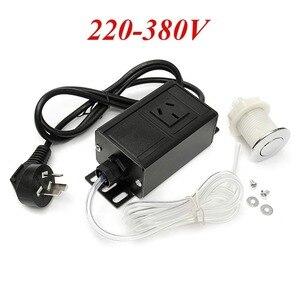 Image 2 - 220 380V Air Switch Knop & Plug Voor Massage Stoel Spa Afval vuilophaal Gunstige Prijs