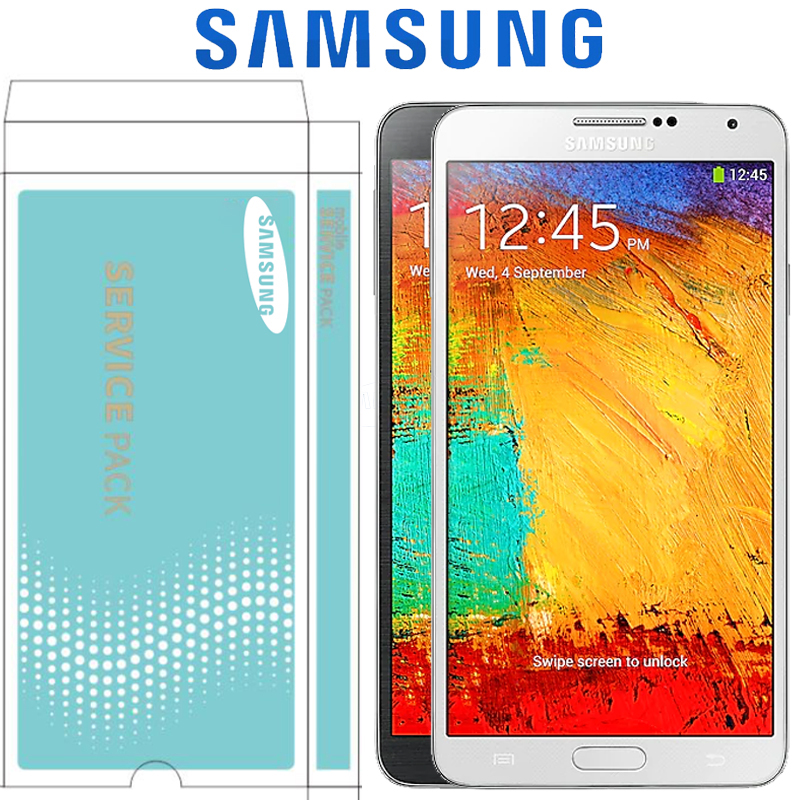 ORIGINAL 5 5 SUPER AMOLED LCD with Frame for SAMSUNG Galaxy Note3 Note 3 Neo Mini
