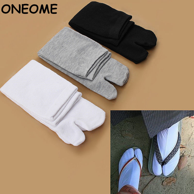 1 Pair Fashion Japanese Kimono Flip Flop Sandal Split Toe Tabi Ninja Geta Socks Hot Sale Drop Shipping 2017 New Arrival