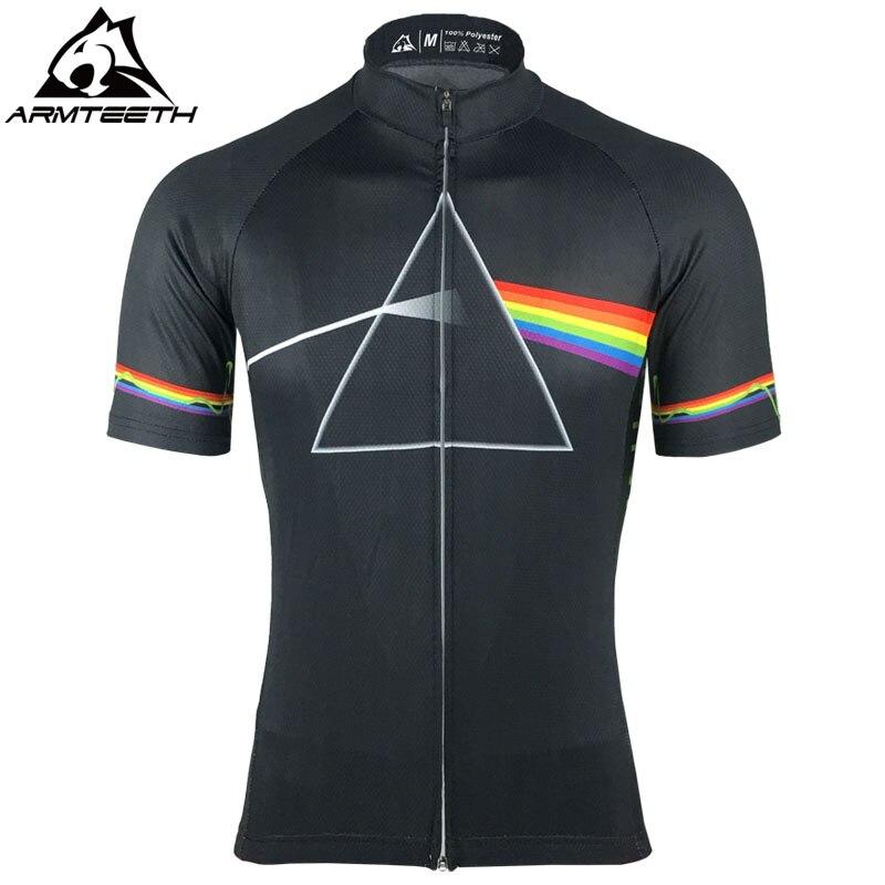 2017 Pink Floyd Ciclismo Pro Camisa Homens Camisas MTB Roupas Bicicleta Respirável Quick Dry Esporte Tops XS-5XL