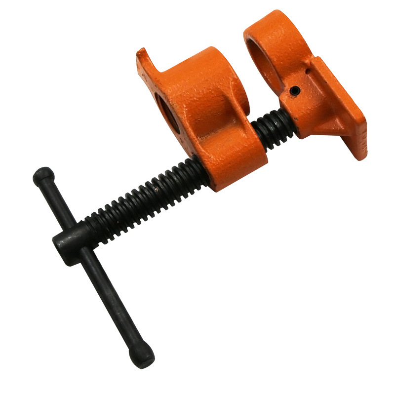 Wood Clamp Pipe Clamp 1/2 3/4 Inch Wood Glued Clamp Cast Iron Pipe Heavy Carpentry Carpenter Tool Carpentry Clamps
