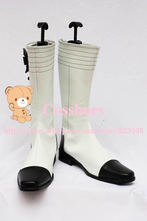 Por encargo Angela zapatos de botas de zapatos negro mayordomo Kuroshitsuji a6d5b7