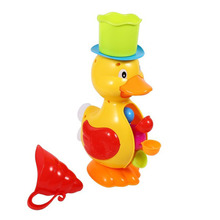 1Pcs Bathroom Baby Kids Toddler Bathing Water Spraying Tool Bath Bathtub Duck Toys