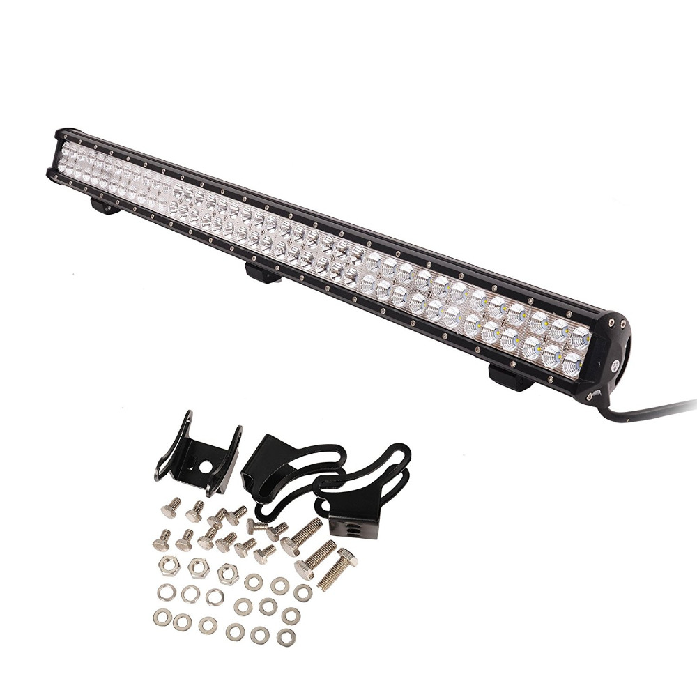 36inch Car LED Light Bar 234W LED Work Light Flood Spot Combo Beam Light Bar Driving Fog Lights For JEEP Off-road ATV SUV Boat 240w led light bar 13 5inch combo beam led bar driving lights 5d lens reflector led off road lights 4x4 suv truck boat utv atv