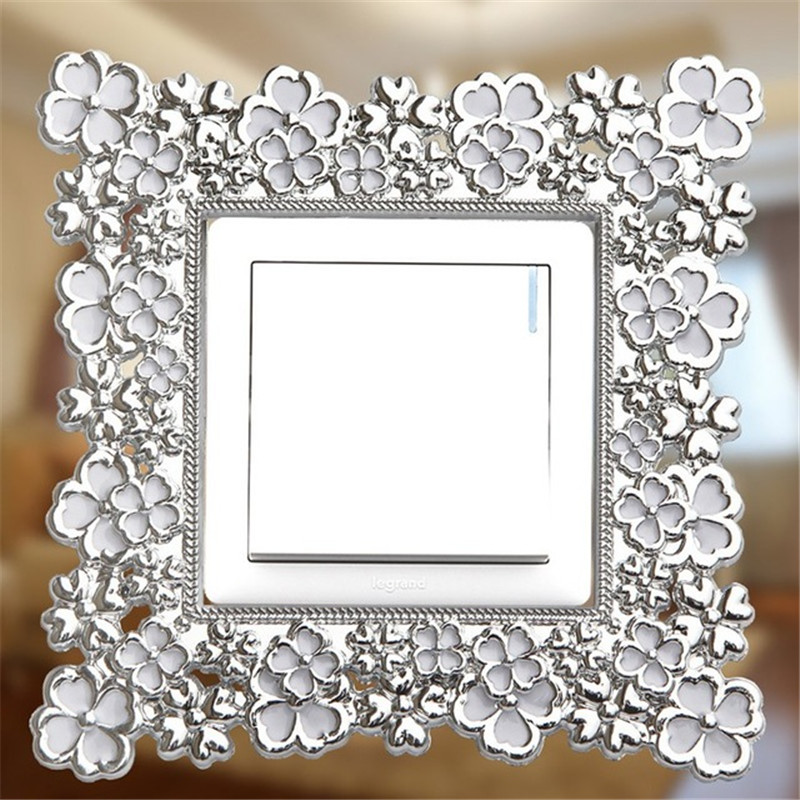Keythemelife Home Decoration European Resin Switch Stickers Bedroom Parlor Decoration Wall Sticker C4