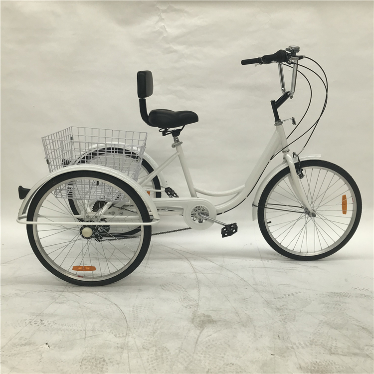 KN-RLSLC01 Top Sale Euro Non-electric Adult Tricycle Bike Adult Baby Disabled Cargo Tricycle China With Cheap Price.
