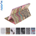 Coque Fundas Cover for Apple iPad mini 123 7.9' inch PU Leather Case for ipad mini 1 2 3 Painting Wallet Shell for A1455 A1432