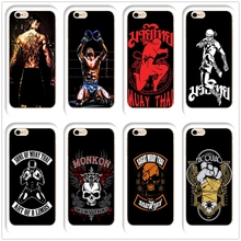 DK Thai Boxing Buakaw Muay Fighting phone case hard Transparen cover for iphone 11Pro MAX 6 6s 7 8plus 5s 4s X XS XR XSMax