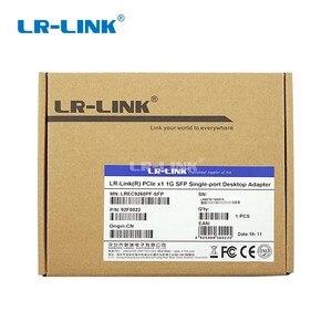 Image 5 - LR LINK 9260PF SFP PCI Express 1000 Мбит/с Gigabit Ethernet Сетевая карта волоконно оптический адаптер локальной сети Настольный ПК Intel 82576 Nic