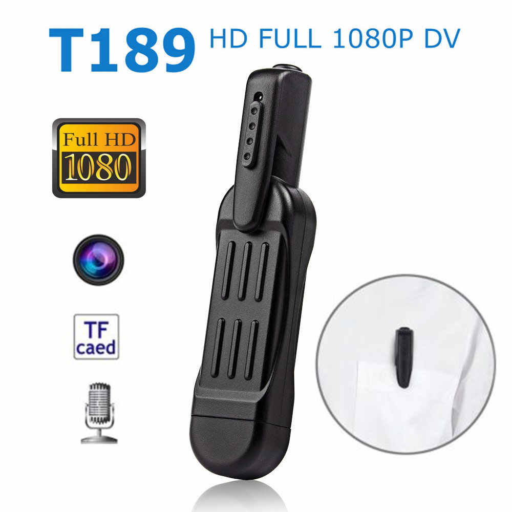 T189 Mini Pen Camera 1080P Full HD Portable Secret Camcorder DVR Small Digital Video Audio Recorder Micro Cam Meeting Business