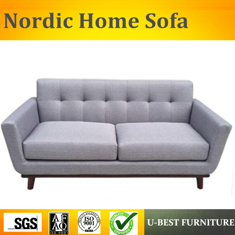 U-BEST Nordic style first layer linen fabric living room set furniture small apartment simple sofa