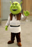 Wholesale New Shrek Mascot Costume Adult For Halloween! Free shipping