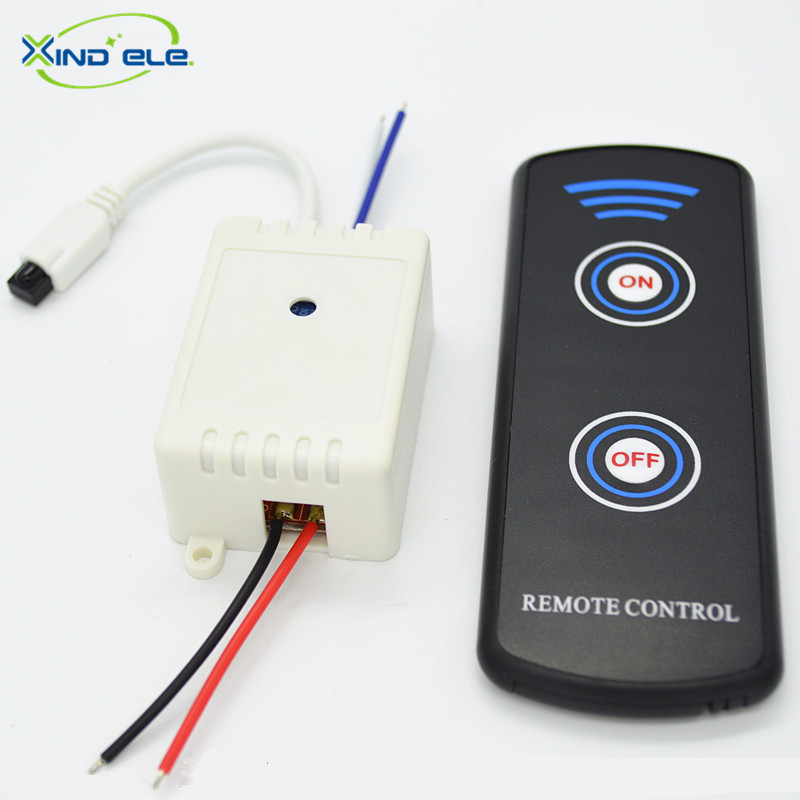 XIND ELE 1 way 24V DC IR Remote Control Self-lock Switch With Wire + Remote For Light And Garage Door #IR24-1SW+LPM2# кристофер хибберт крымская кампания 1854 – 1855 гг