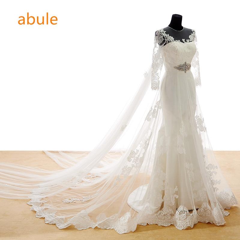 abule csipke esküvői ruhák hableány valódi fotó Minta szexi kristály szalagok puszta menyasszonyi vissza esküvői ruhák vestido de noiva