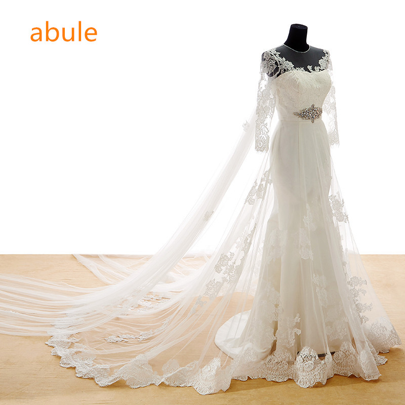 Abule Wedding Dresses Mermaid Lace Real Sample Sexy