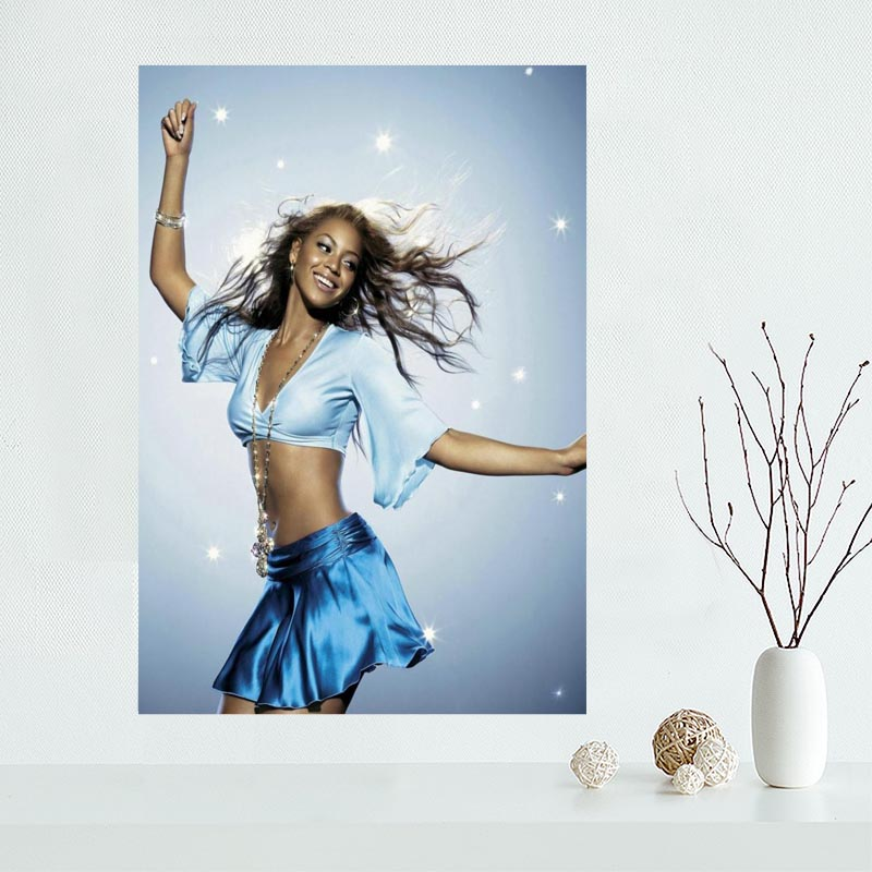 Hot Sale Custom Beyonce Canvas Poster Home Decor Poster Print creative mural art More Size Best Gift ZX00987