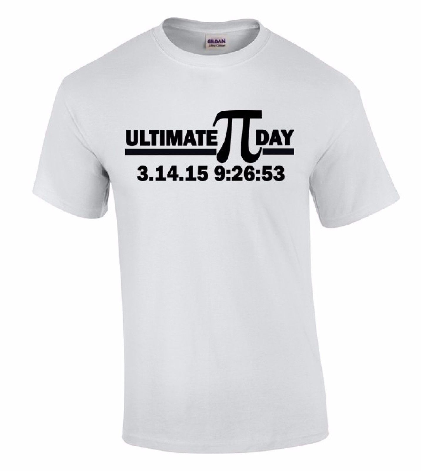 Cheap Sale 100% Cotton Short O-Neck Fashion 2016 Mens Ultimate Pi Day Black Math Science Nerdy Geeky Teacher Tee Shirts