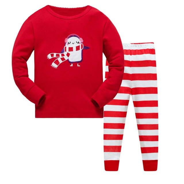 b6a4e9f6f118 Online Shop Kids Pajamas Sets boys Dinosaur pattern night suit ...