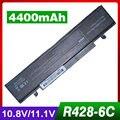 Batería del ordenador portátil para samsung r428 np-q530 np-rf511 np-sf410 nt-q530 p580-js06 q430 q530 r463 r464 r465 r466 r467 r429 r430 r780