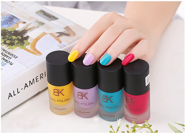2015free shipping bk matte nail polish candy color nude matte nail polish color all 26 colors - Buy Candy By Color