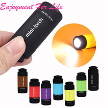 Mini-Torch 0.3W 25Lum USB Rechargeable LED Torch Lamp Flashlight Keychain Enjoyment For Life High Quality Free Shipping Nov 8