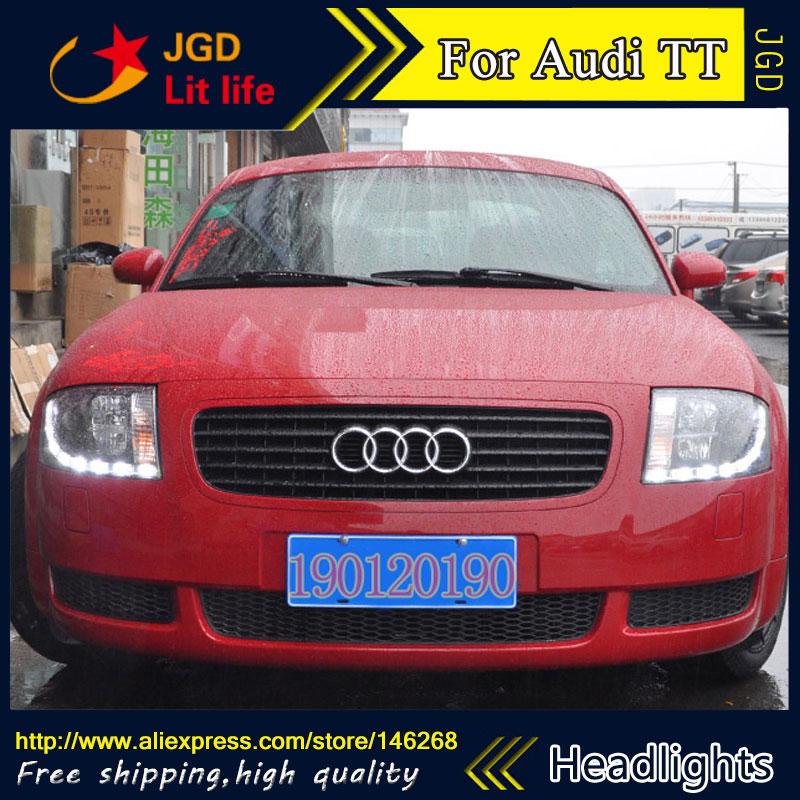 Спрятал светодиодные фары, фары, спрятал грыжи лампы аксессуары чехол для автомобиля Audi ТТ 1999-2005 стиль