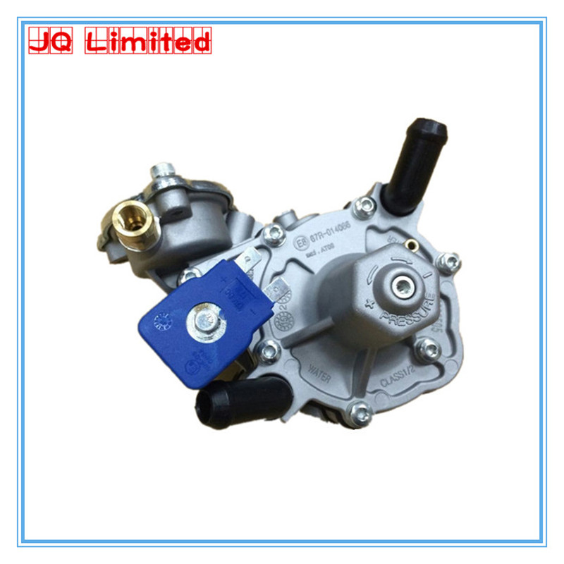 Propane gpl Regulator AT09 for lpg conversion kits for sale gas pressure reducer electronic reducer valve FOR GPL car recommended intake pipe pressure reducer propane professional tools special filtration device e0873