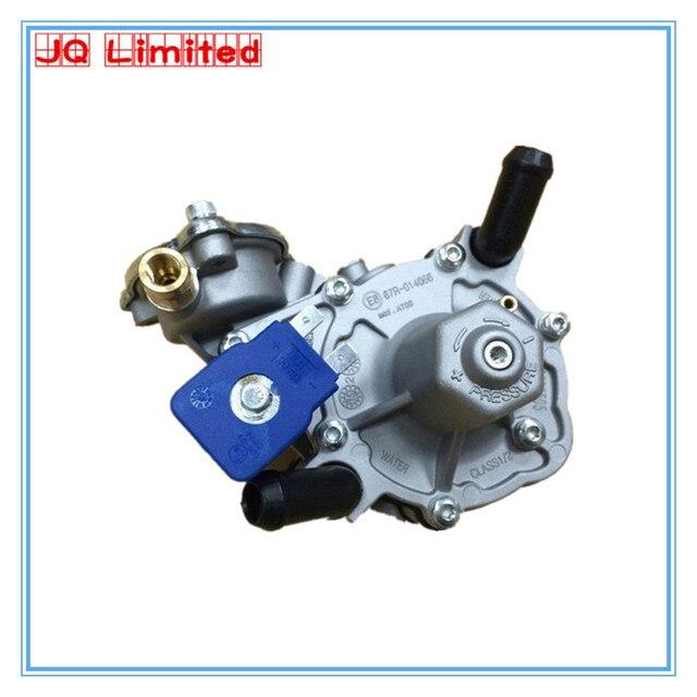 Regulator propan gpl AT09 dla zestawy do konwersji lpg na sprzedaż reduktor ciśnienia gazu elektroniczny zawór redukcyjny do samochodu GPL