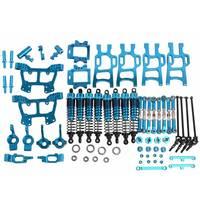 Обновления Запчасти Вышивка Крестом Пакет синий для HSP RC 1:10 электрический/Nitro Monster bigfeet грузовик 94108 94110 94111