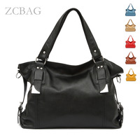 Free Shipping Fast Sending Soft Real Genuine Leather Lady Women S Hangbag Shoulder Tote Bag With