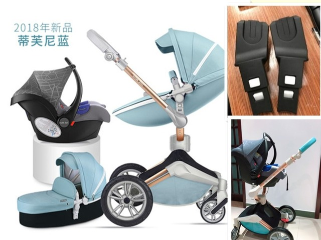 Hot Mom Stroller Basket Adapter Car Seat Accessories Suit Pouch