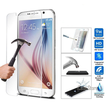 HD Tempered Glass For Samsung Galaxy A3 A5 A7 A300 2016 A510 A310 S5 S6 J5 J7 j510 j710 Screen Protector Film sklo glas an mobil(China)