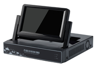 JSA CCTV Mini DVR 4 Channel 1080P Digital Video Recorder incl 7 LCD SCREEN 3 in 1 4CH AHD DVR HVR NVR System P2P H264 Home Secu