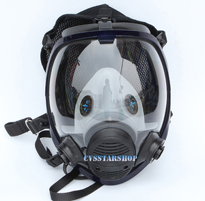 Image 3 - Chemcial Function Supplied Air Fed Safety Respirator System With 6800 Full Face Industry Gas Mask Respirator